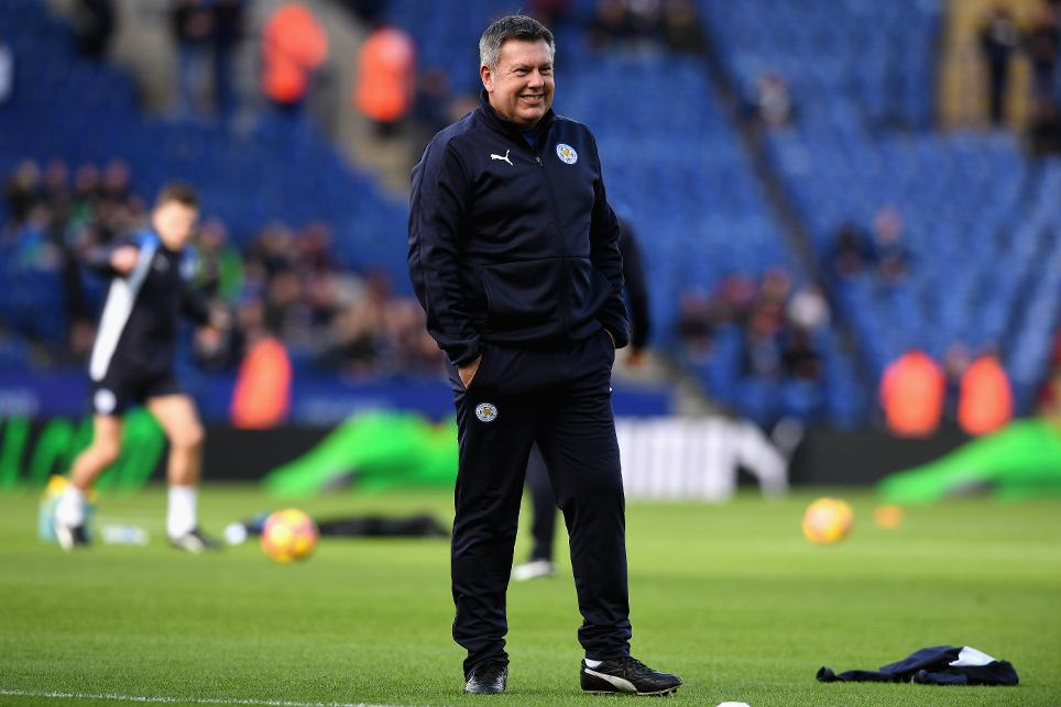 Leicester City manager Craig Shakespeare