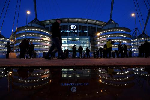 Image result for etihad stadium manchester night