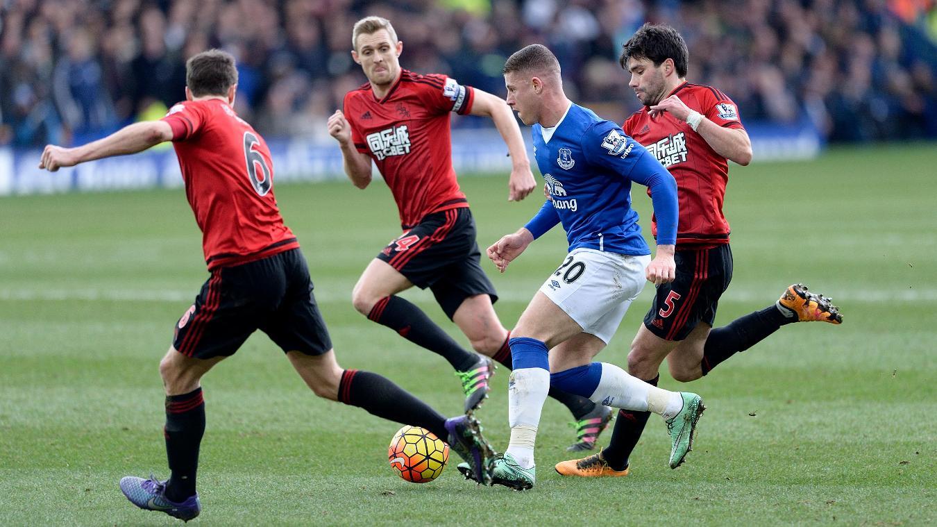 Everton v West Brom, 11 March