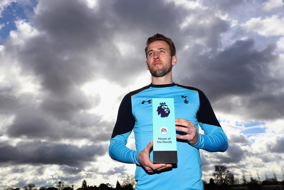 February's EA SPORTS Player of the Month, Harry Kane