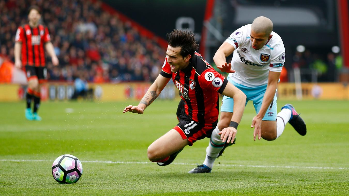 AFC Bournemouth 3-2 West Ham