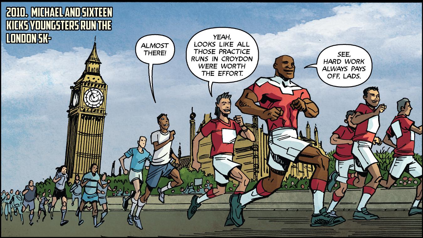 PL Kicks Heroes: Michael Lacey