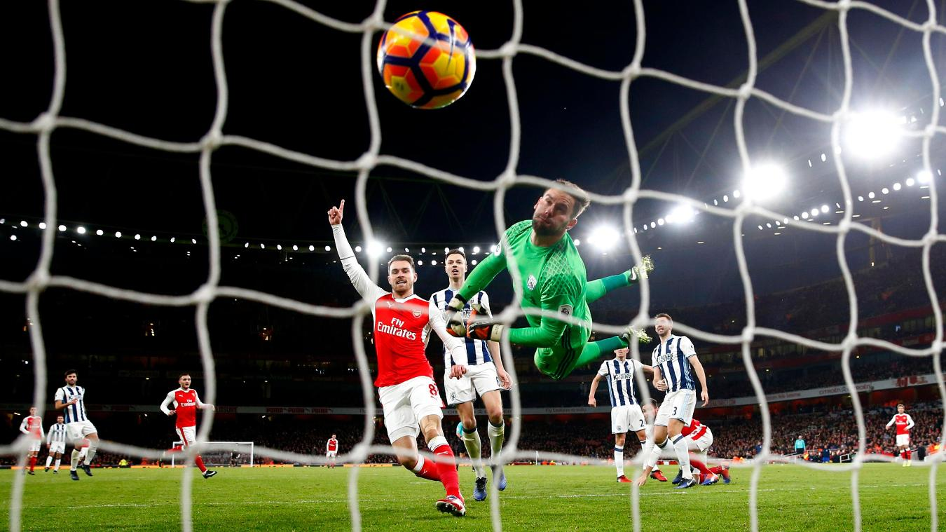West Brom v Arsenal, 18 March