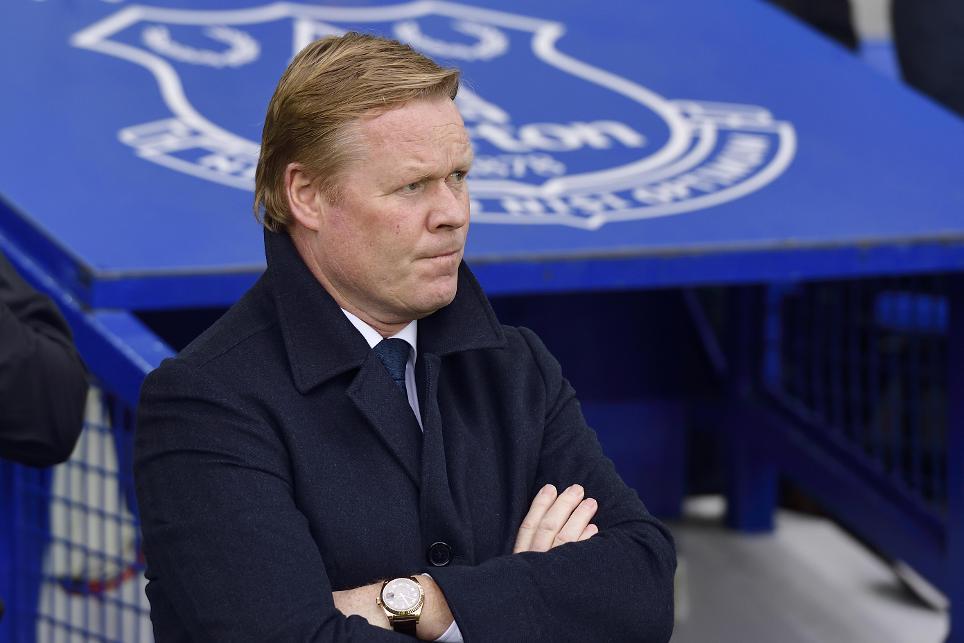 Ronald Koeman, Everton