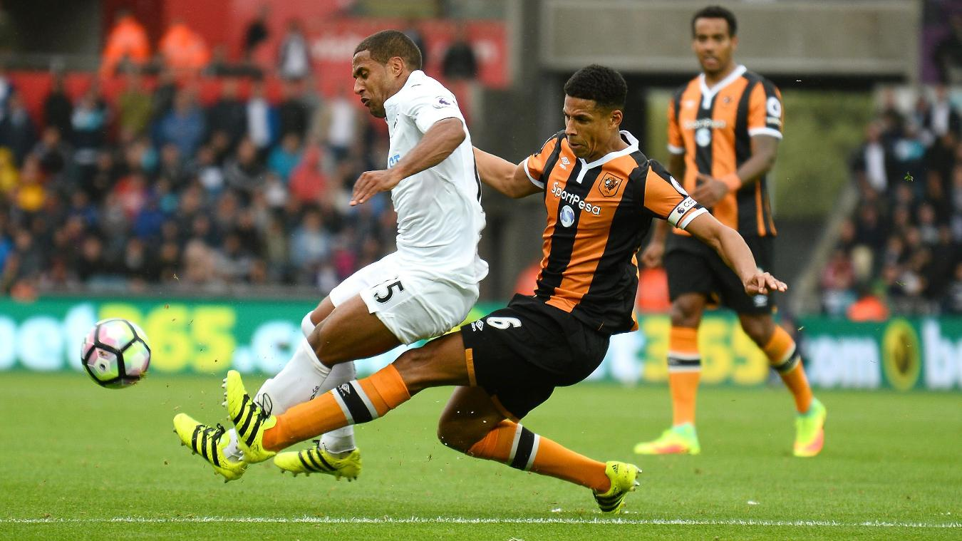 Curtis Davies in action for Hull City