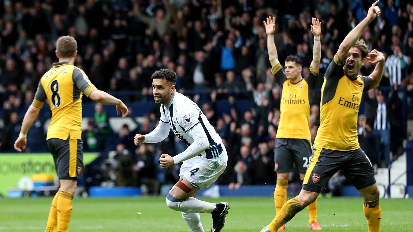 West Brom 3-1 Arsenal