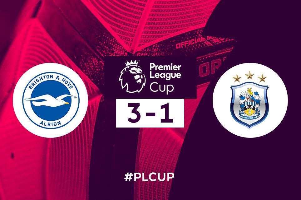 Premier League Cup: Brighton v Huddersfield