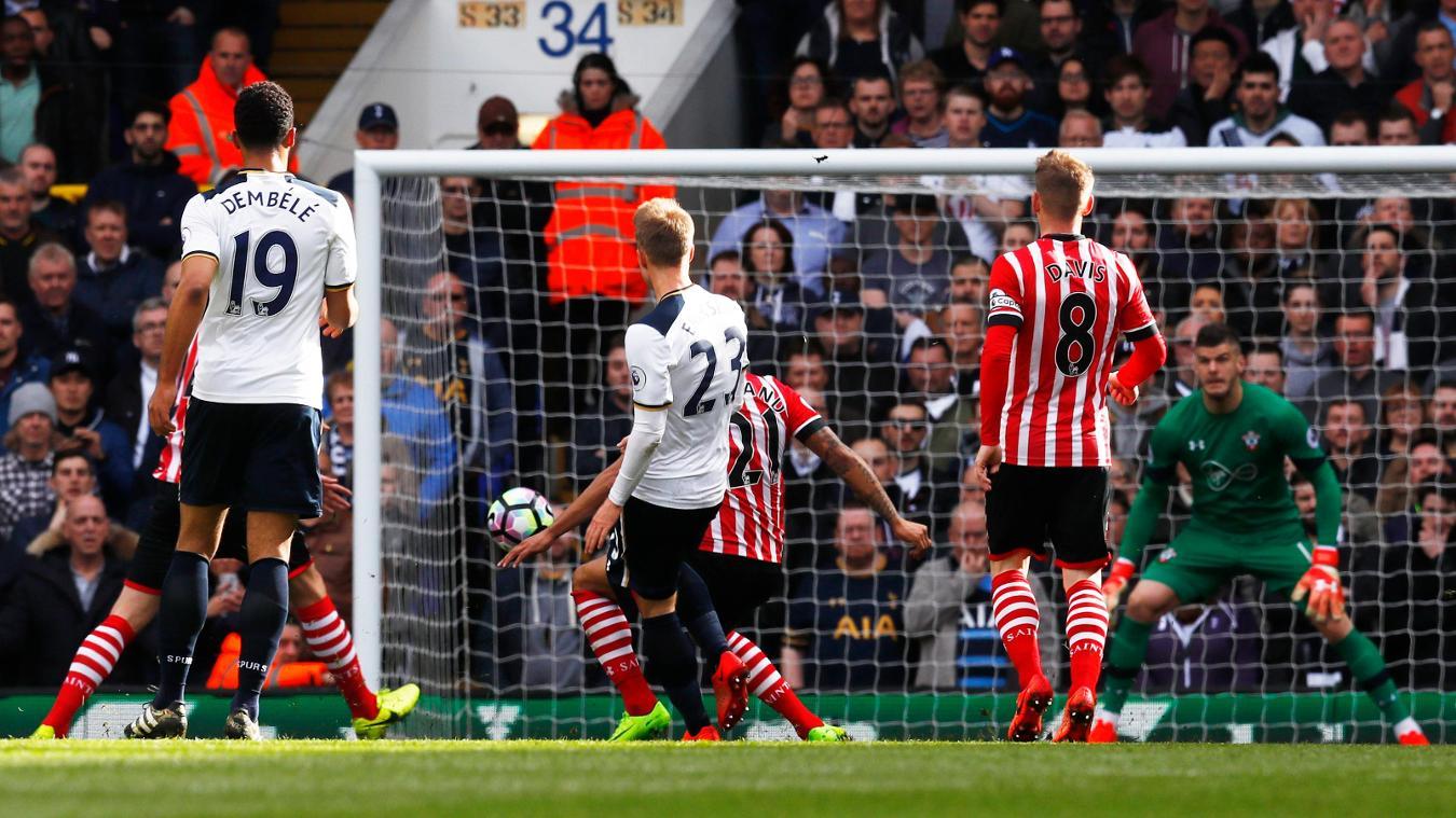 Spurs 2-1 Southampton