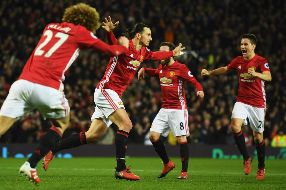 Zlatan Ibrahimovic, Man Utd