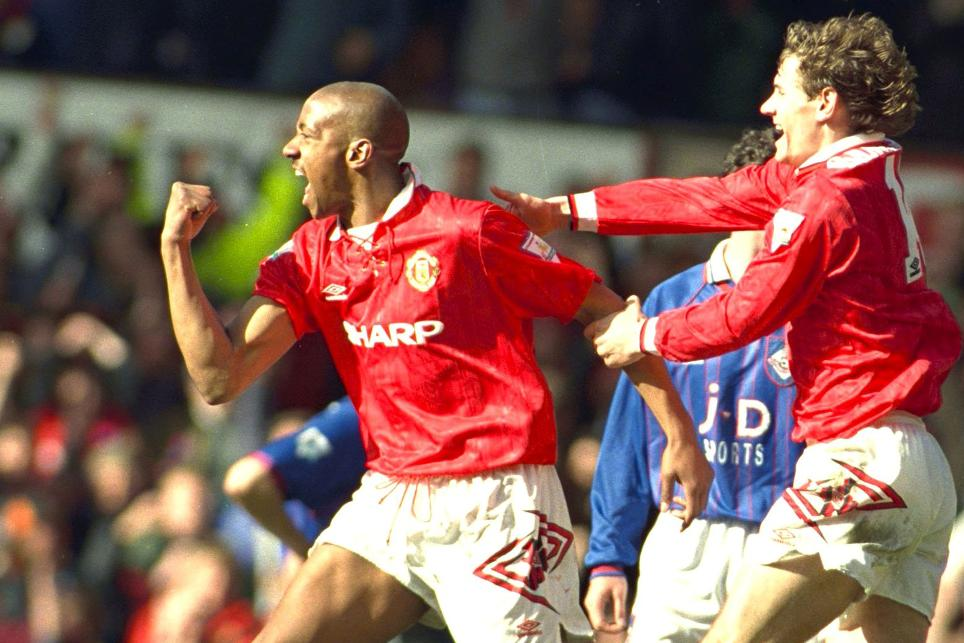 Dion Dublin, Manchester United