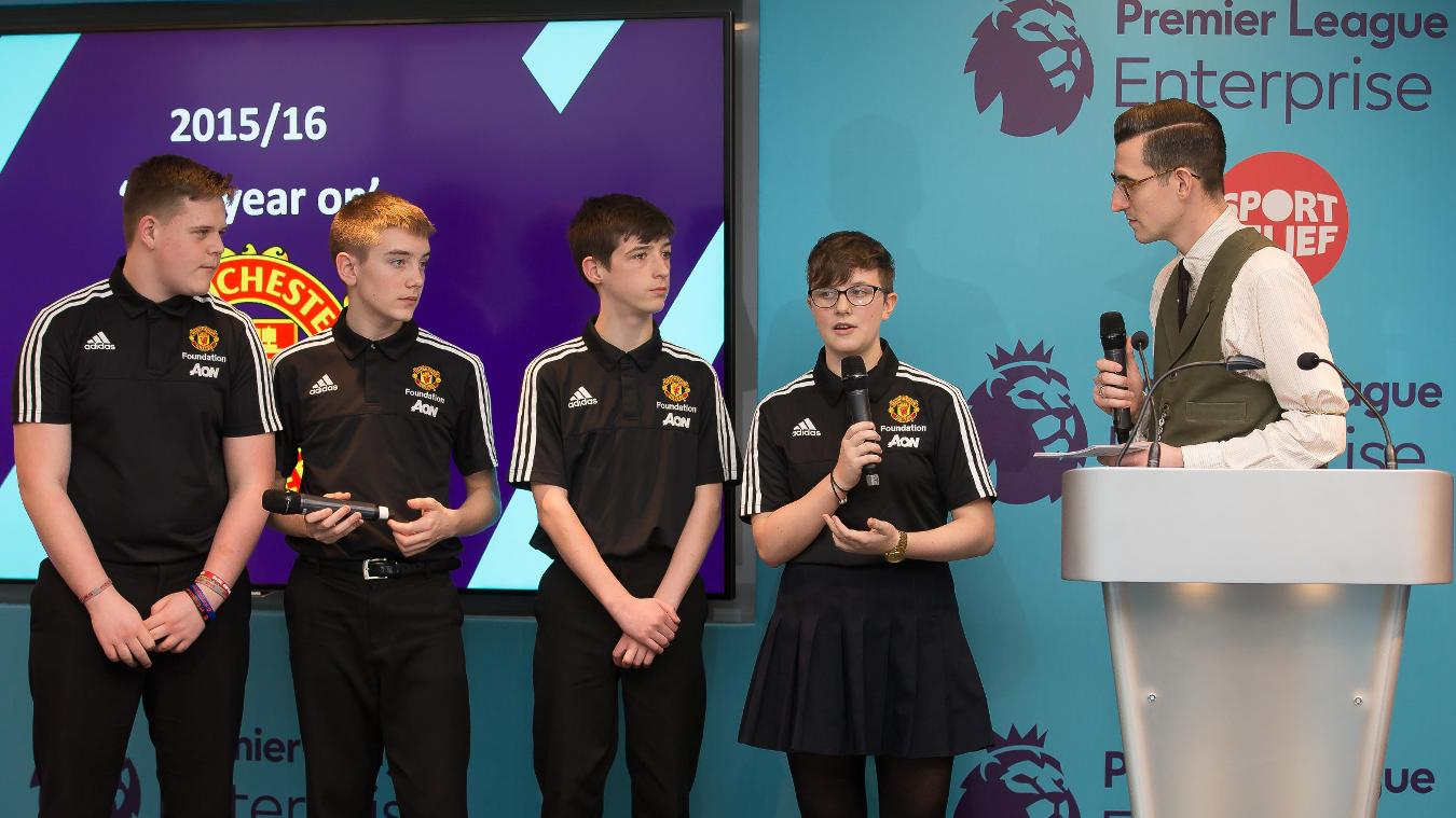 Premier League Enterprise Challenge final
