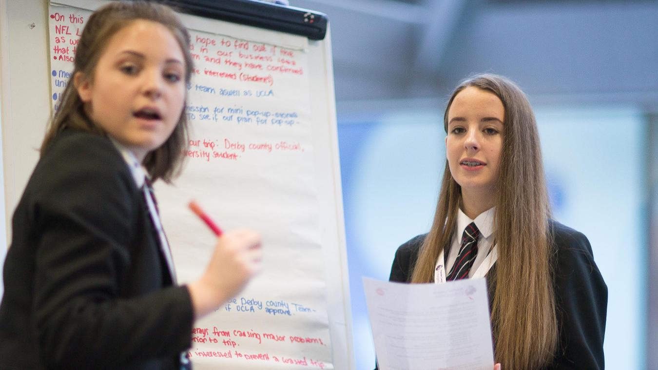 Premier League Enterprise Challenge final, the Pingle School