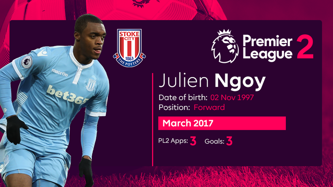 PL2 Player of the Month nominee Julien Ngoy