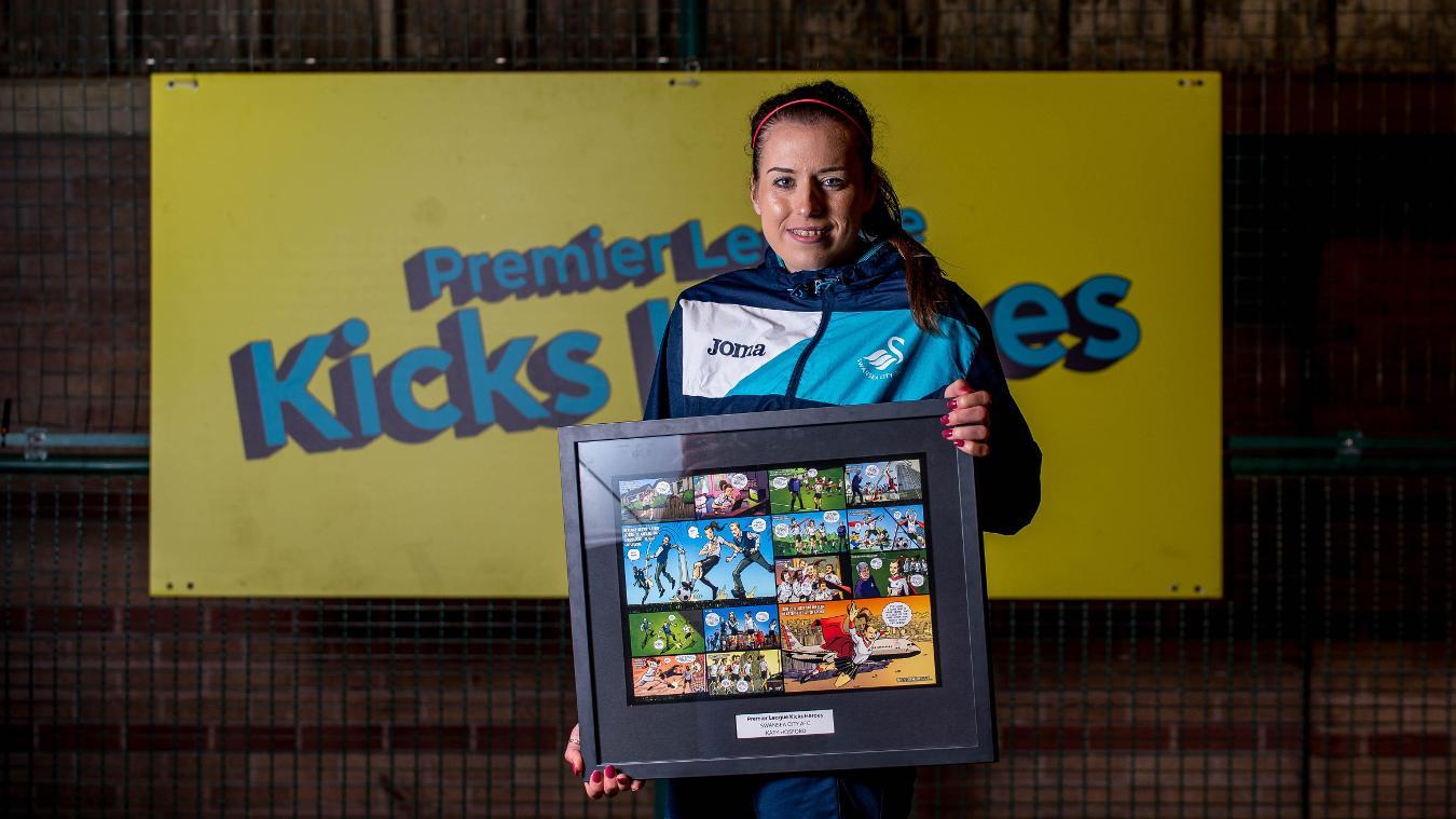 Premier League Kicks Hero, Katy Hosford