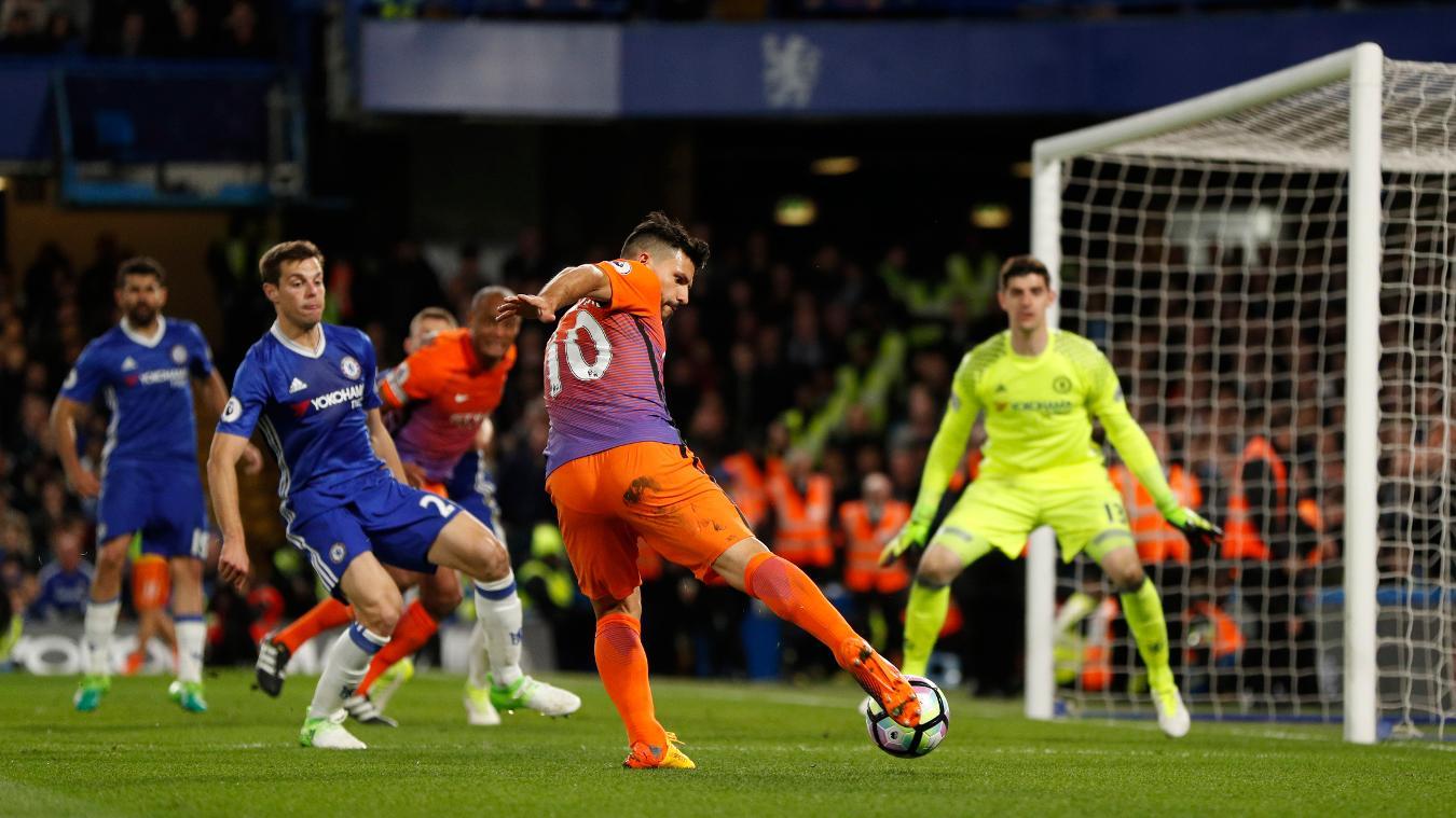 Manchester City's Sergio Aguero