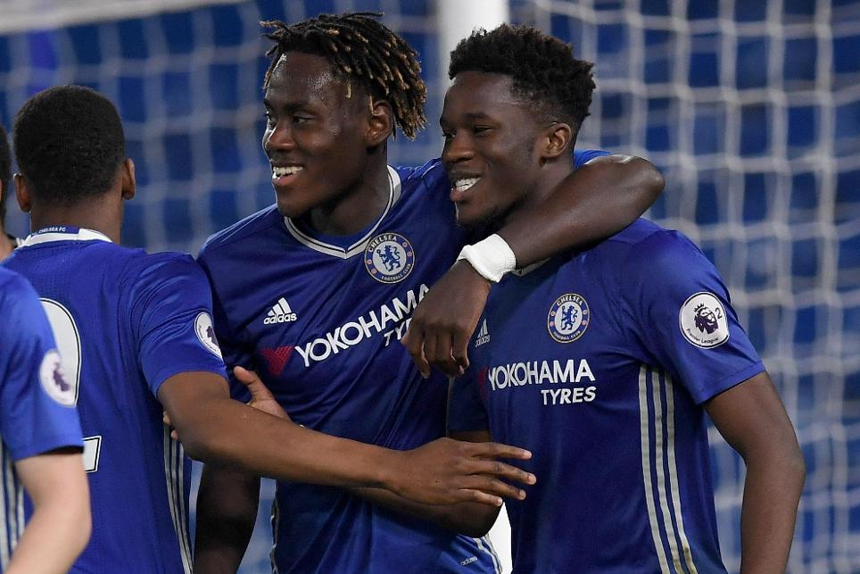 Ike Ugbo, Chelsea v Sunderland, PL2.jpg