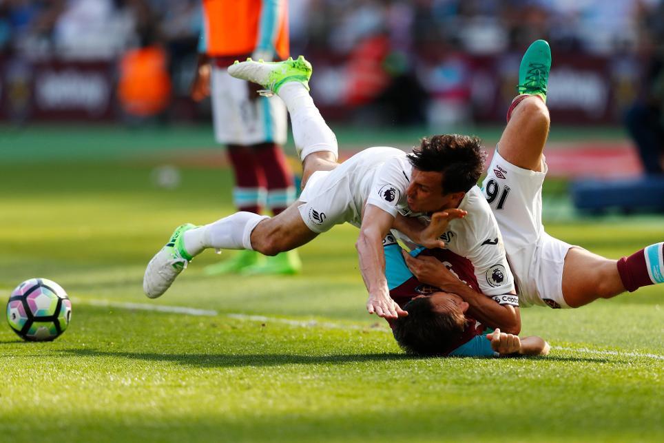 West Ham 1-0 Swansea City