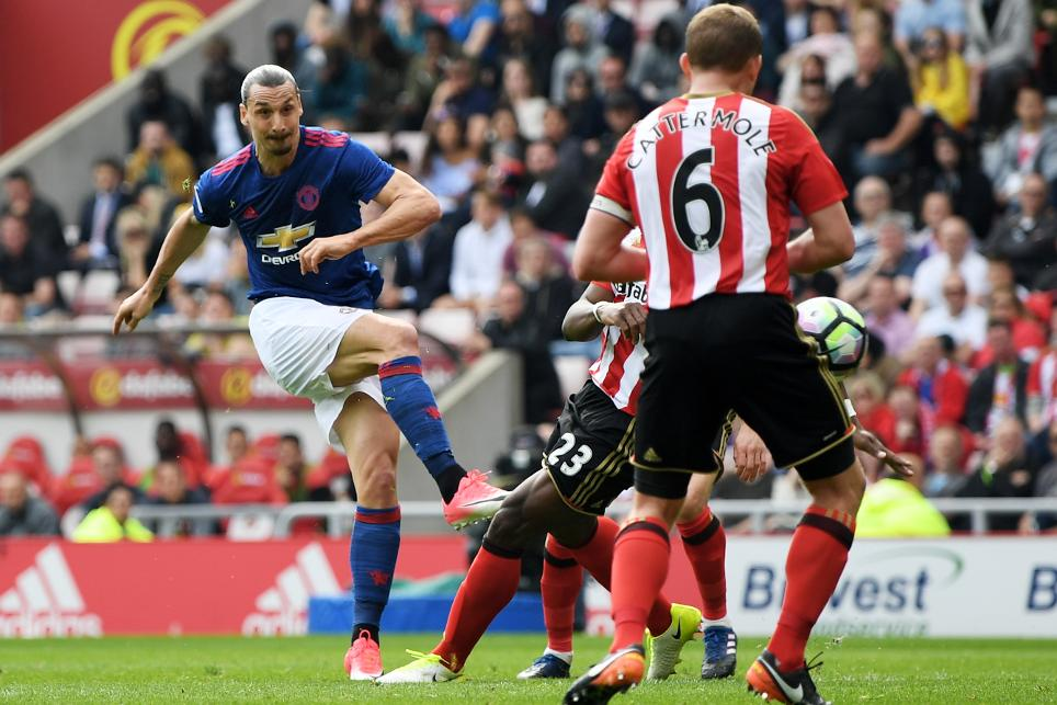 Sunderland 0-3 Man Utd