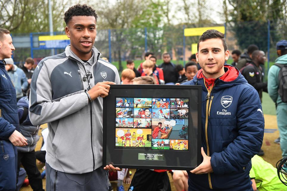Dillon White, Arsenal Kicks Hero