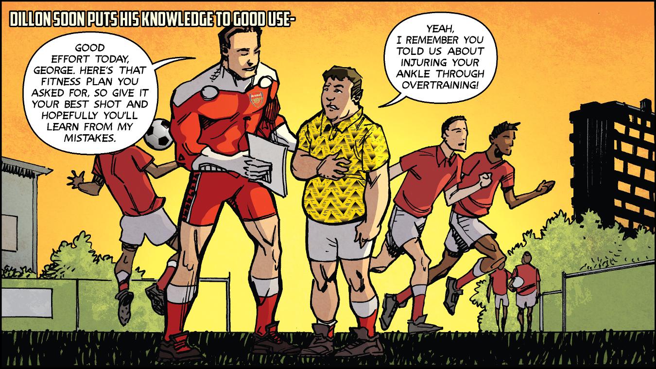 Dillon White comic strip