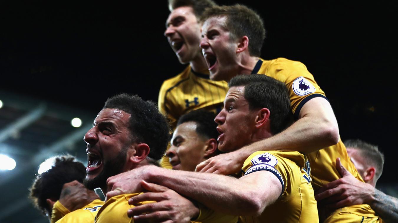 Matchweek 31: Swansea City 1-3 Spurs