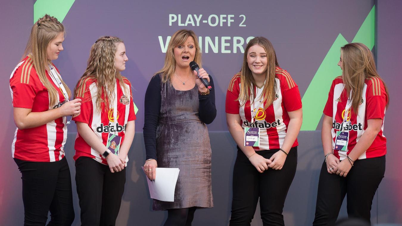 Premier League Enterprise Challenge, Sunderland AFC, play-offs