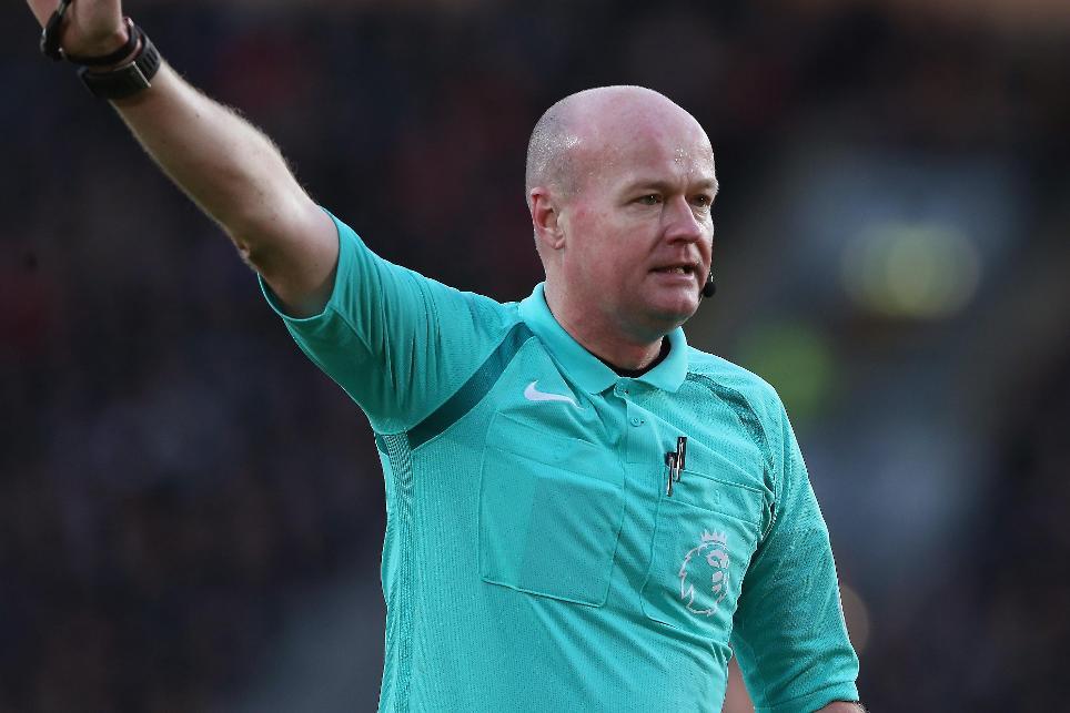 Hull City v Liverpool, Lee Mason referee