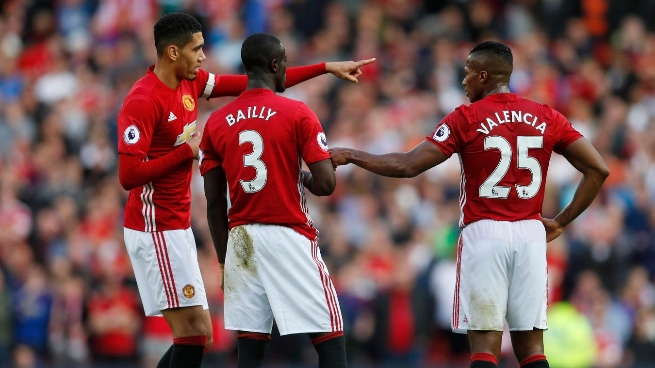 Image result for manchester united defence