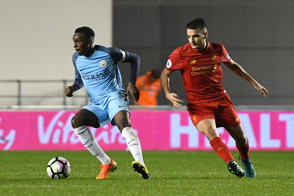 Photo of Man City in action against Liverpool in PL2