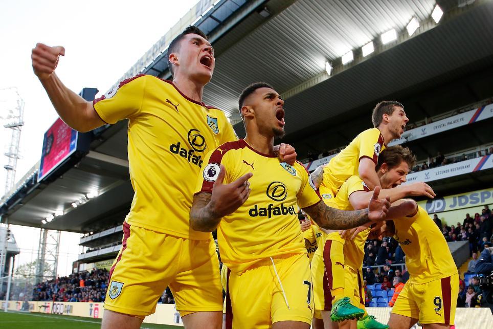 Crystal Palace 0-2 Burnley