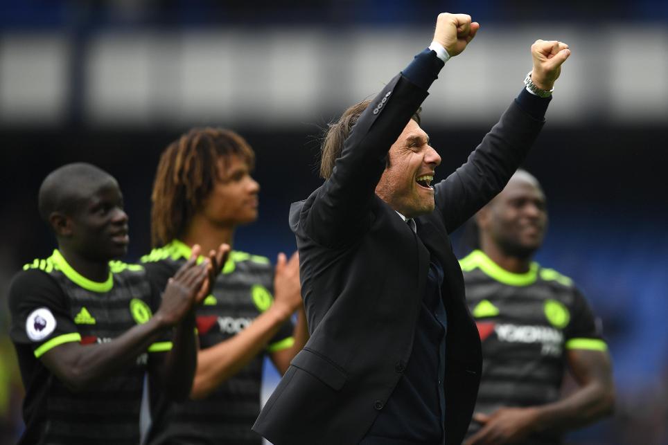 Everton v Chelsea Antonio Conte