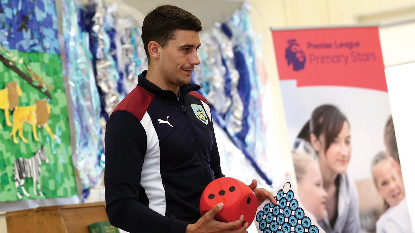 Matt Lowton, St Stephen's Primary School, Premier League Primary Stars