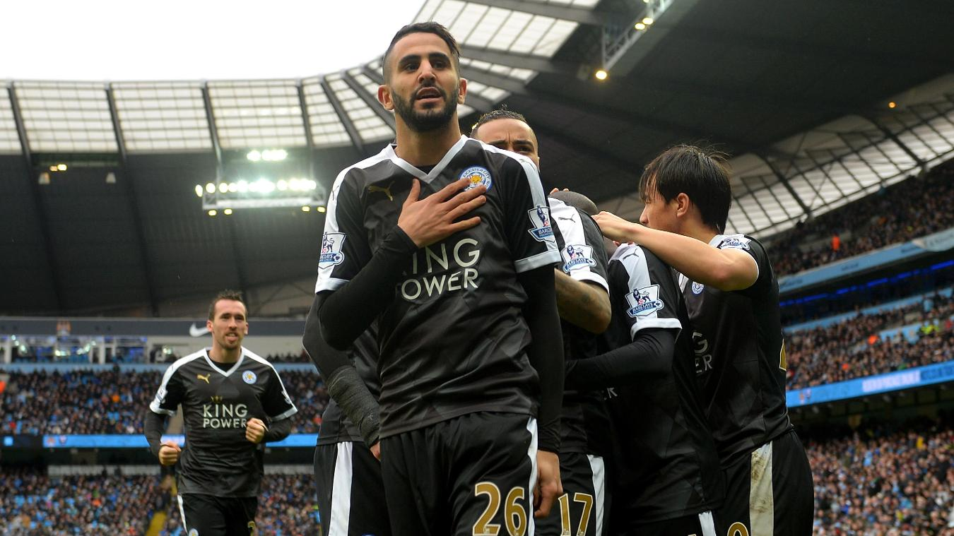 Manchester City v Leicester City, 13 May