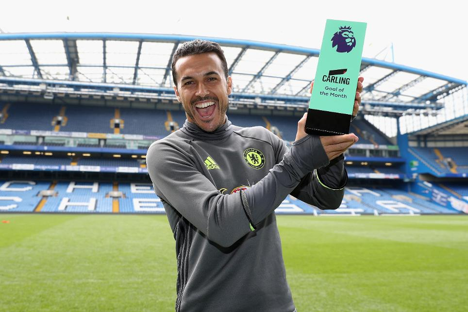 Chelsea's Pedro Carling Goal of the Month
