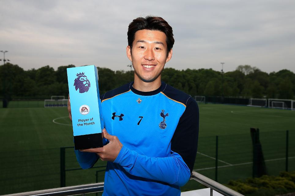 Tottenham Hotspur's Son Heung-min, EA SPORTS Player of the Month