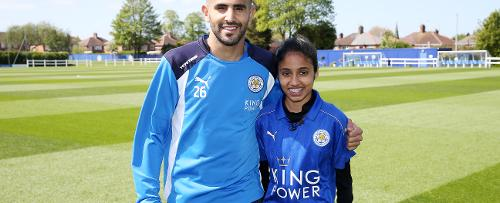 Leicester City Premier League Kicks Hero