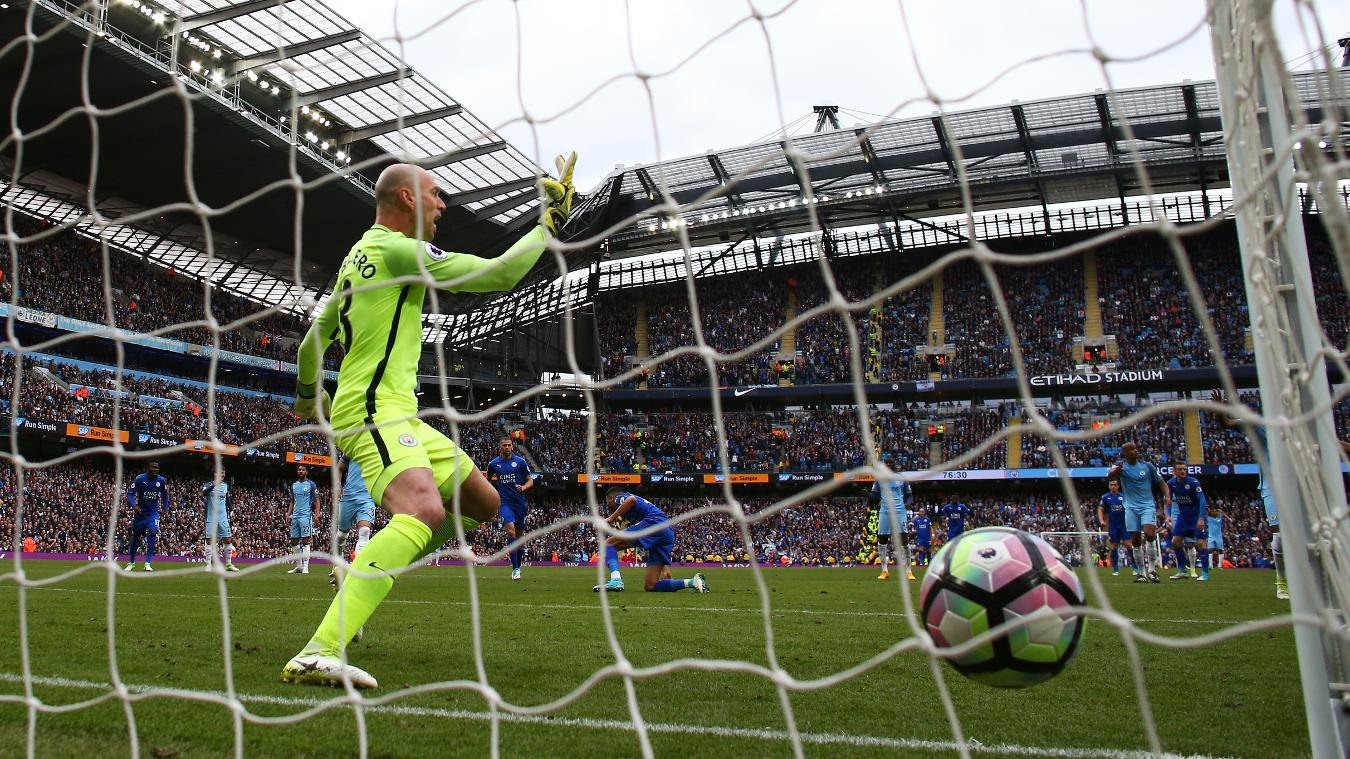 Manchester City 0-2 Leicester City