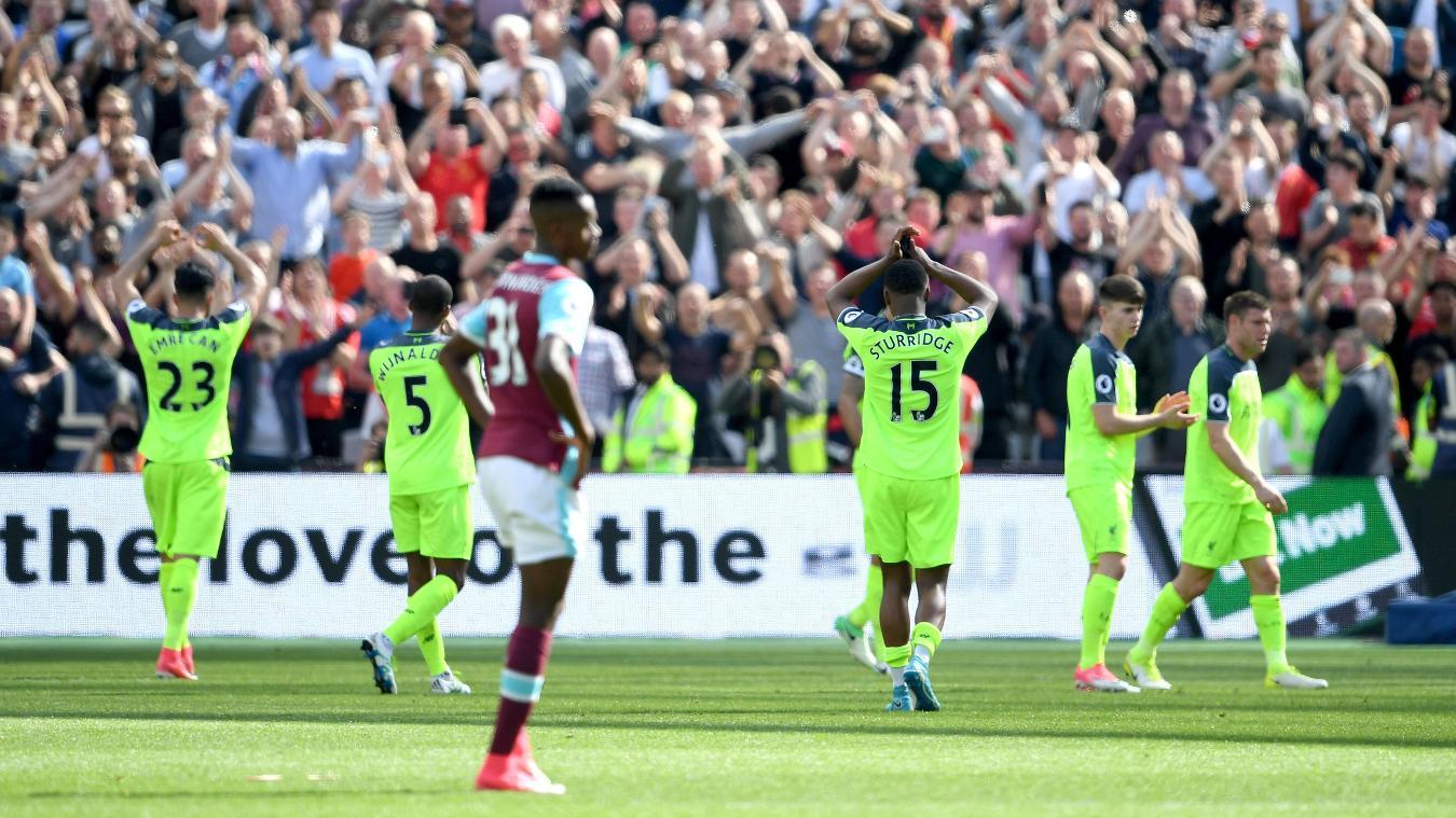 West Ham United 0-4 Liverpool