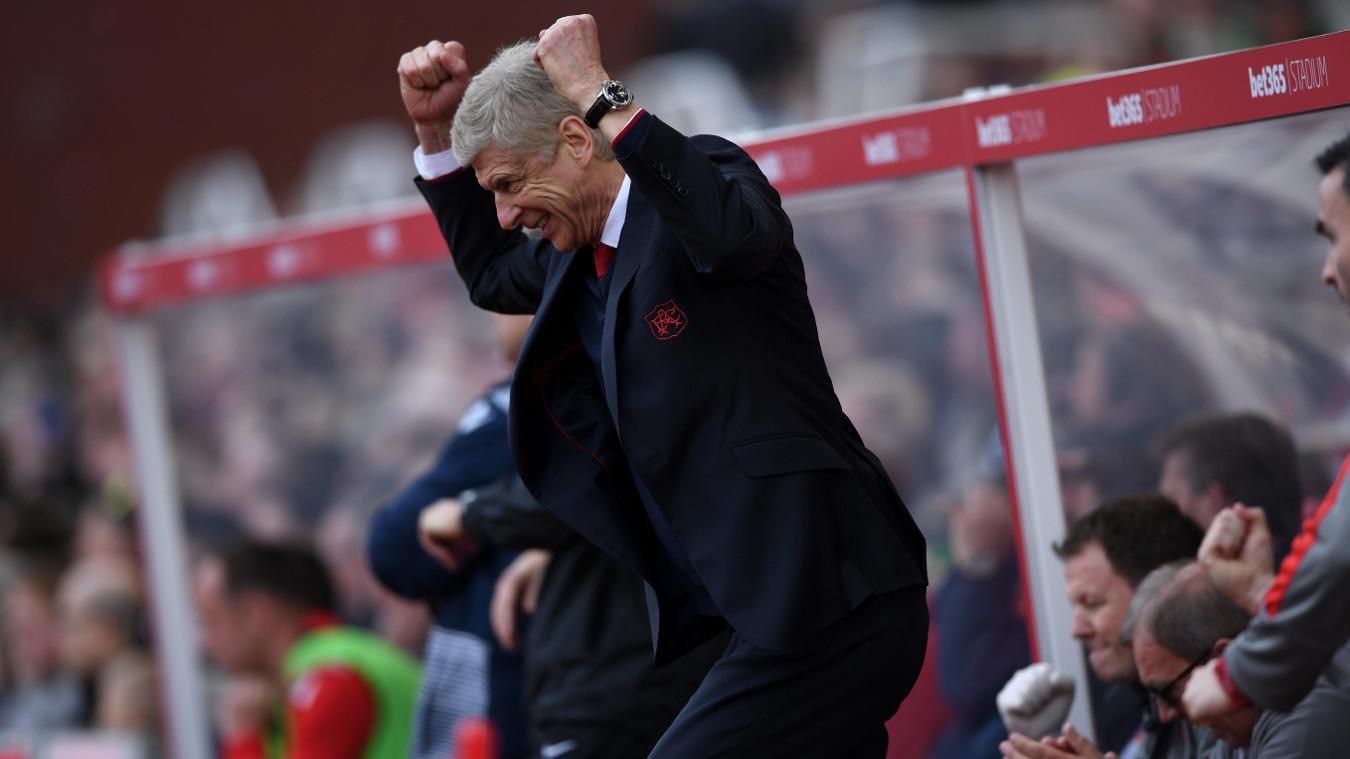 Stoke City 1-4 Arsenal