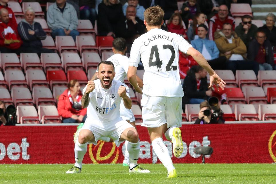 Sunderland 0-2 Swansea City