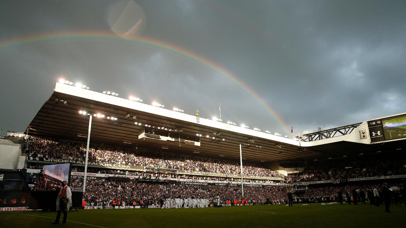 White Hart Lane, Spurs