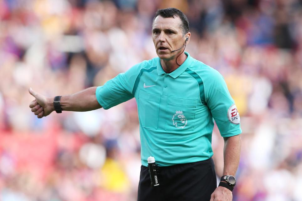Neil Swarbrick, referee
