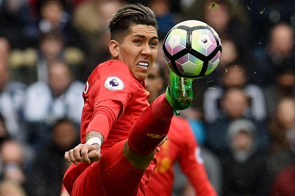 West Bromwich Albion v Liverpool, Roberto Firmino