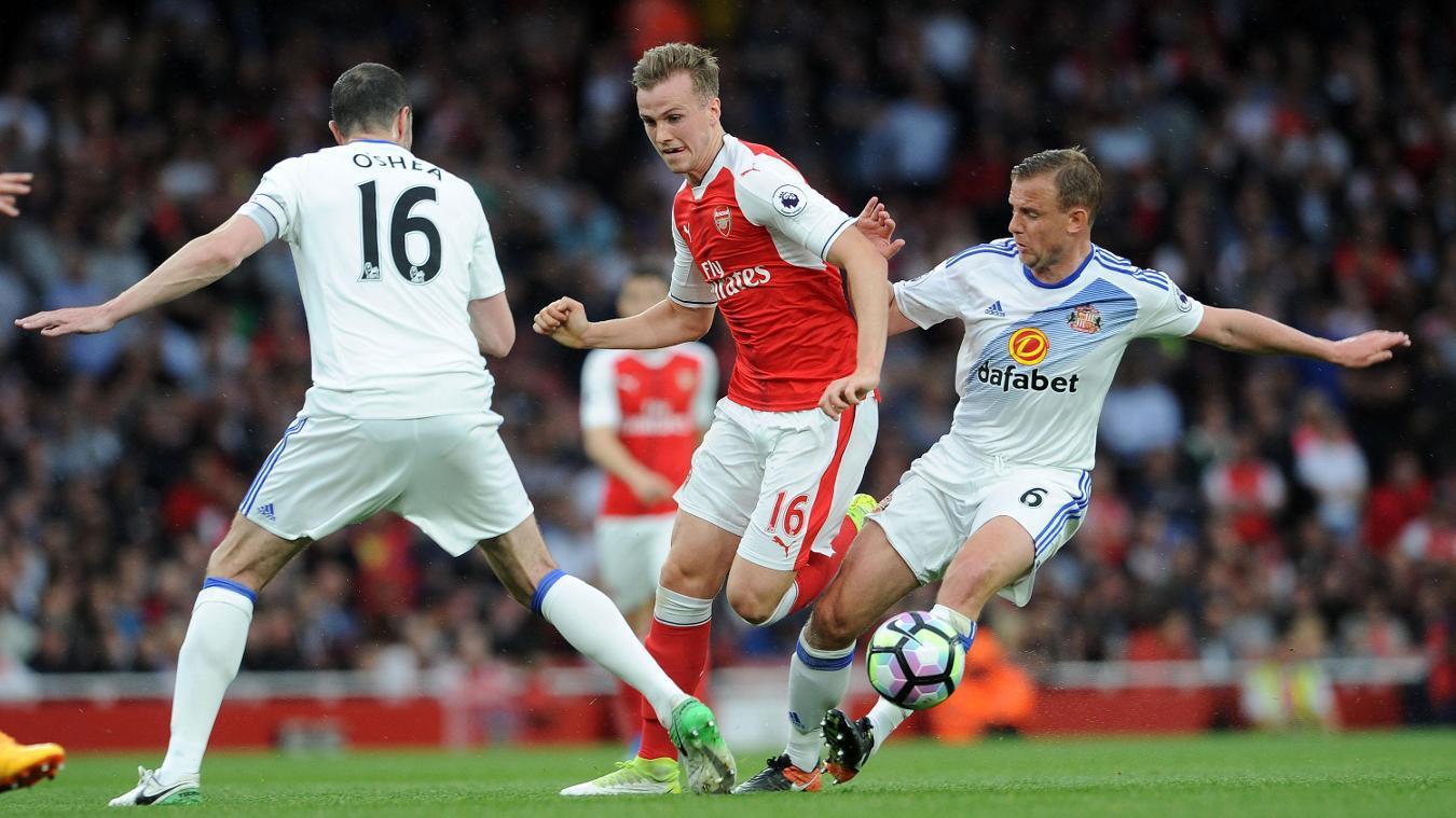 Arsenal v Sunderland - Rob Holding