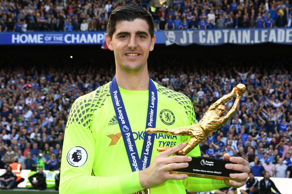Thibaut Courtois, Golden Glove award 2016/17