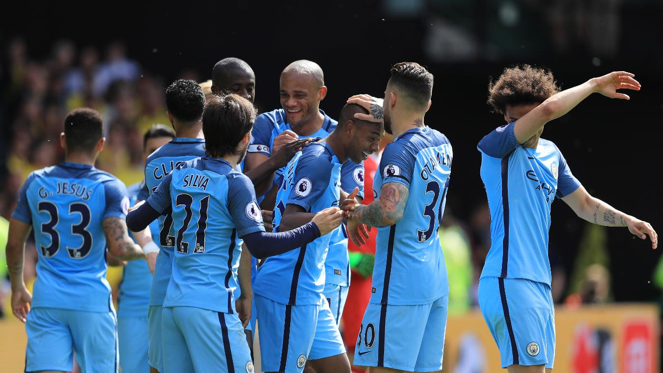 Image Result For Manchester City Vs Watford Scorers