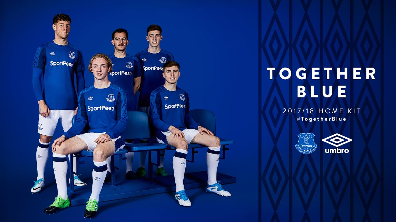 2017/18 Premier League kits: Everton home