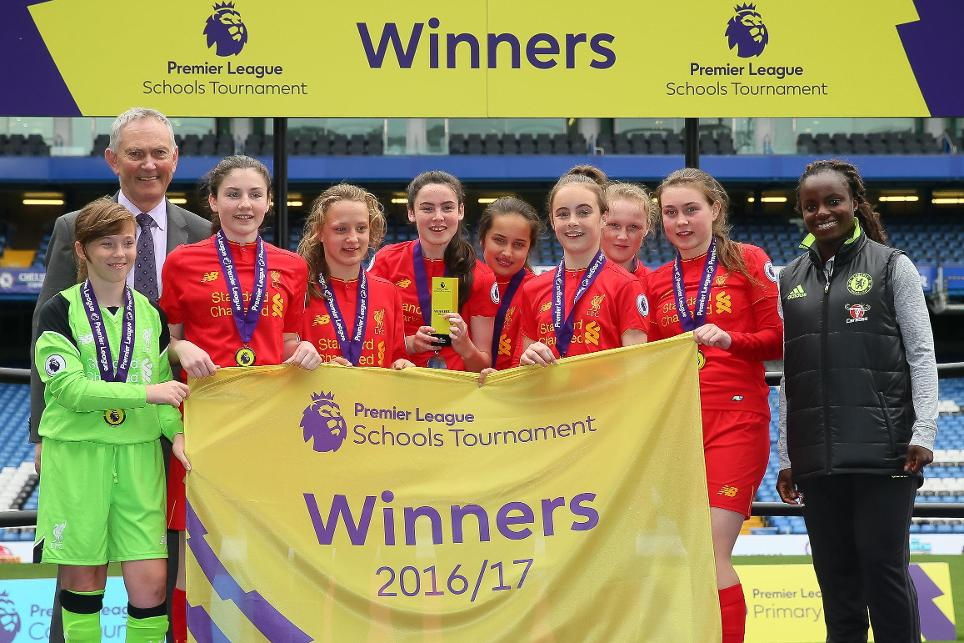 Premier League Schools Tournament 2017 Liverpool winners
