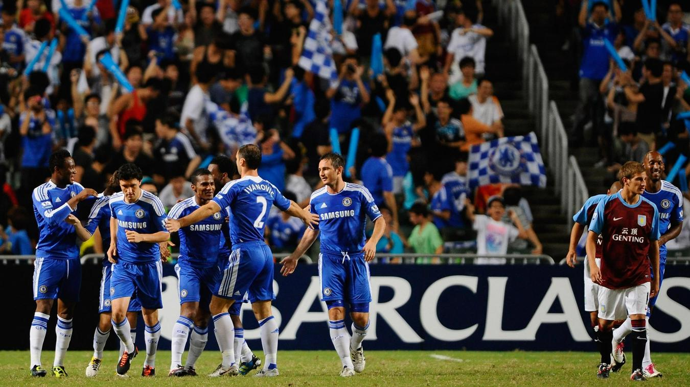 2011 Premier League Asia Trophy winners Chelsea