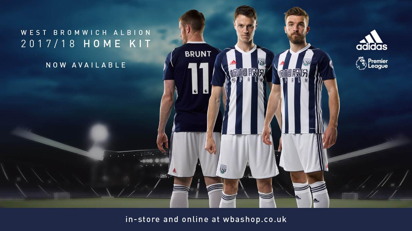 2017/18 Premier League kits: West Brom home